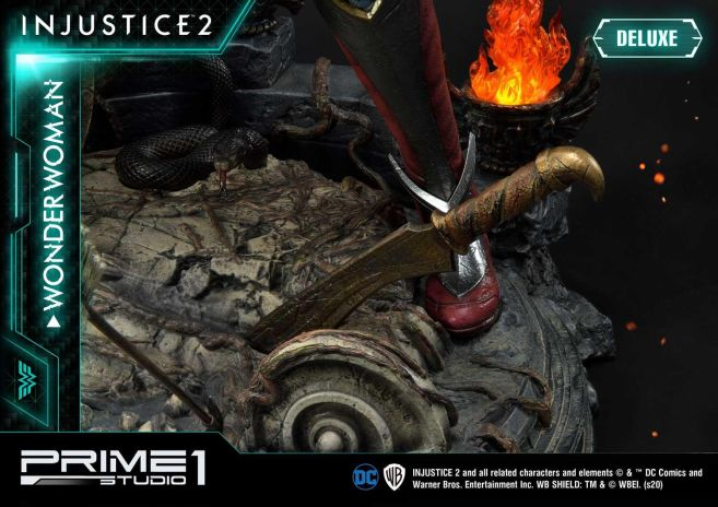 Prime 1 Studio - Injustice 2 - Wonder Woman - Deluxe - 27