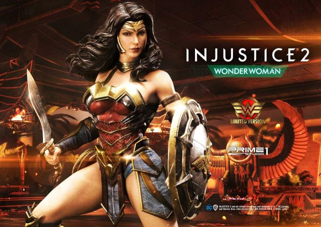 Prime 1 Studio - Injustice 2 - Wonder Woman - Limited - 01