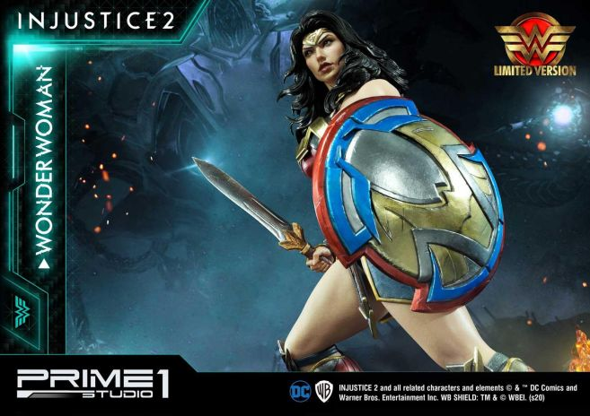 Prime 1 Studio - Injustice 2 - Wonder Woman - Limited - 04