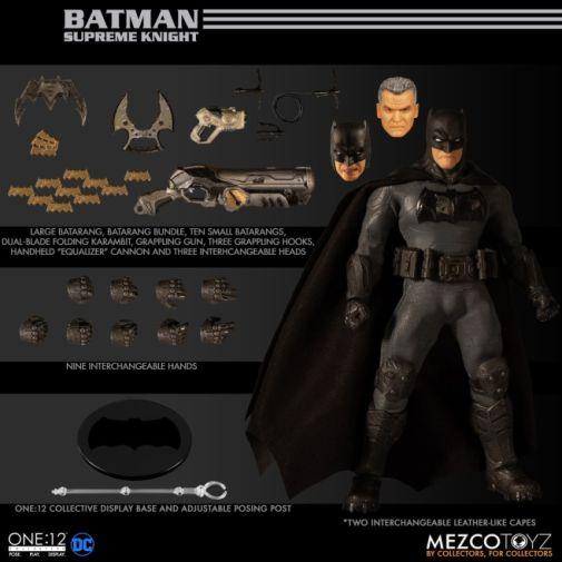 mezco-supreme-knight - accessories