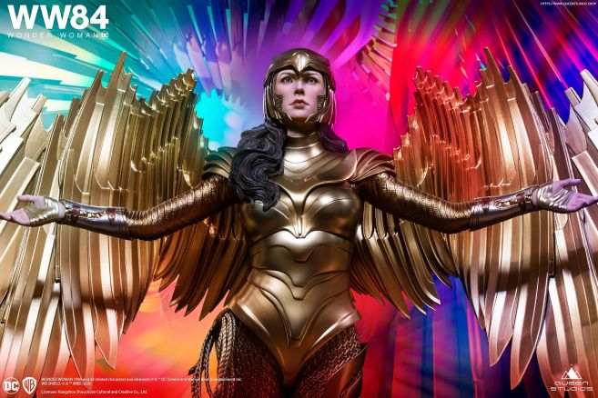 Queen Studios - Wonder Woman 1984 - Golden Armor Wonder Woman - 05