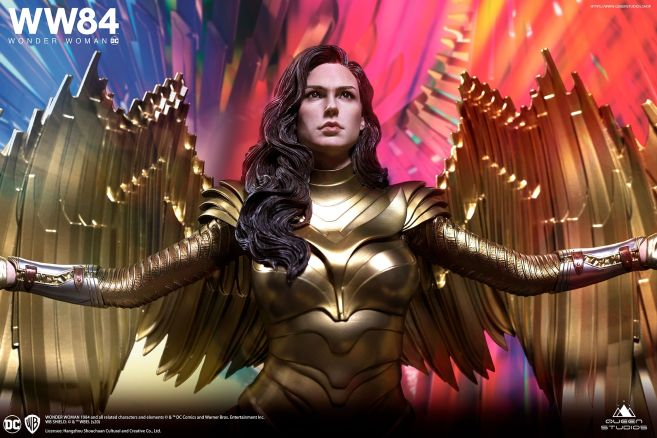 Queen Studios - Wonder Woman 1984 - Golden Armor Wonder Woman - 06