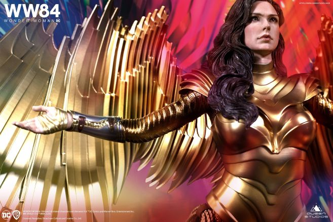 Queen Studios - Wonder Woman 1984 - Golden Armor Wonder Woman - 09