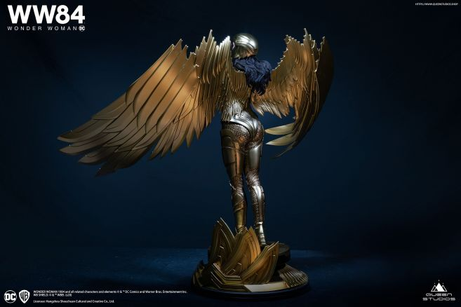 Queen Studios - Wonder Woman 1984 - Golden Armor Wonder Woman - 14