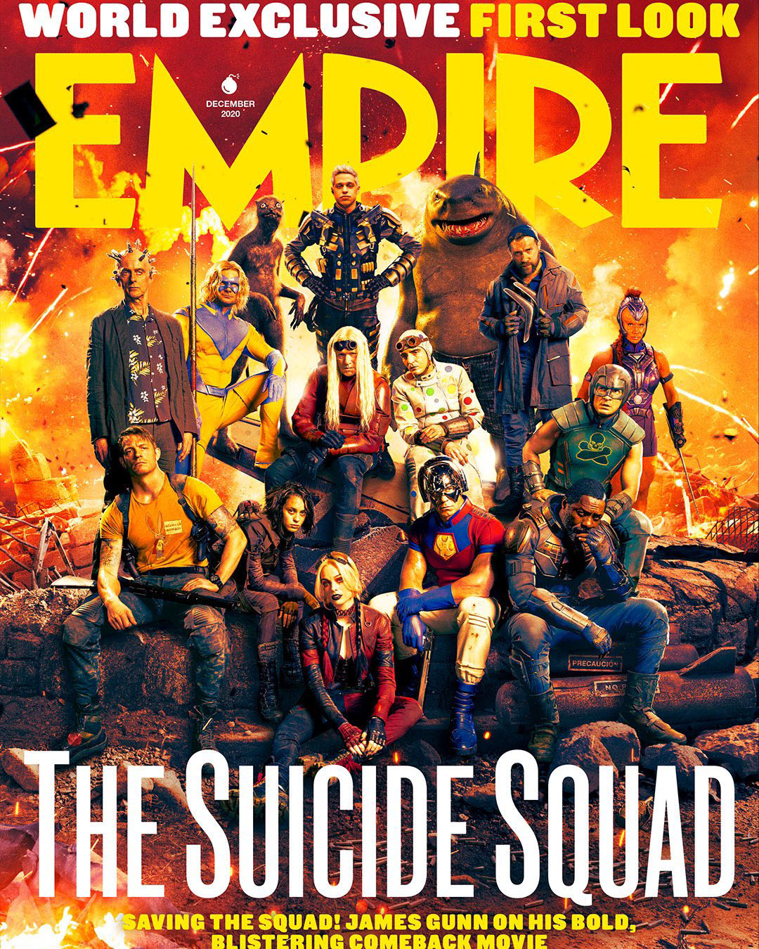Empire shares two new covers for The Suicide Squad | Batman News