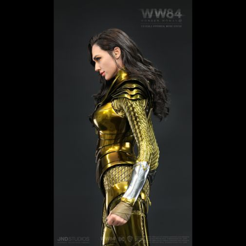 JND Studios - Wonder Woman 1984 - Golden Armor - Black Background - 03