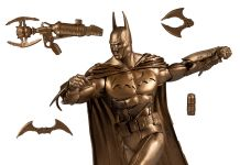 McFarlane Toys - Platinum Edition - Arkham Asylum Batman Bronze Edition - BMN - Featured - 01