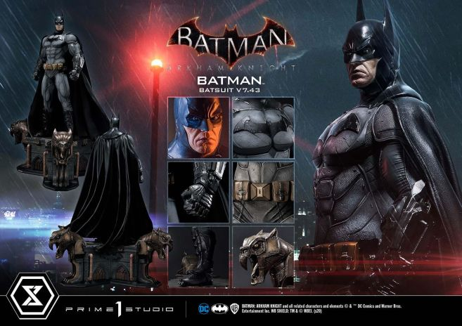 Prime 1 Studio - Batman Arkham Knight - Batman Batsuit V743 - 33