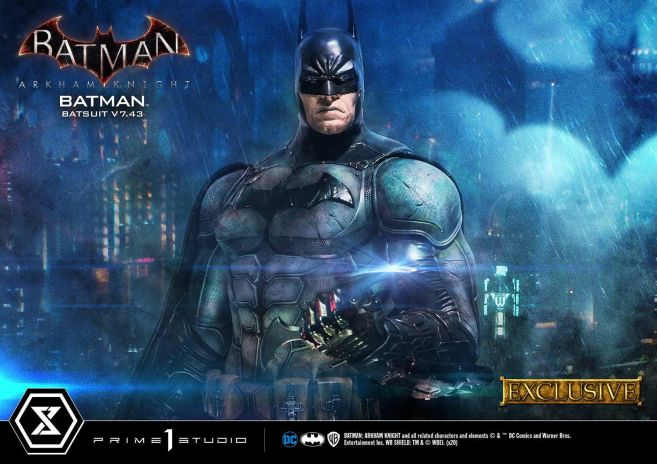 Prime 1 Studio - Batman Arkham Knight - Batman Batsuit V743 - EX - 03