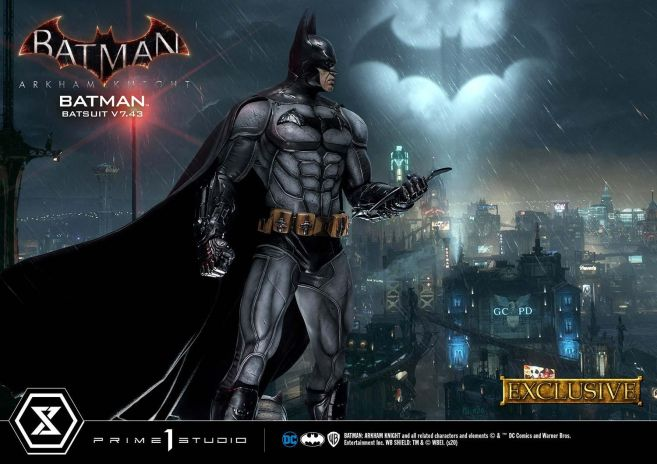 Prime 1 Studio - Batman Arkham Knight - Batman Batsuit V743 - EX - 15
