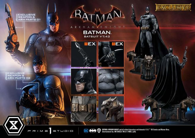 Prime 1 Studio - Batman Arkham Knight - Batman Batsuit V743 - EX - 30