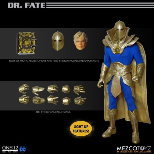 Mezco Toyz - One 12 Collective - Doctor Fate - 14