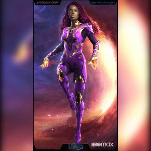 Titans - Season 3 - Starfire - Concept Art - 1