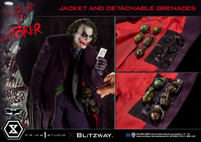 Prime 1 Studio - Batman - The Dark Knight - Joker - 64