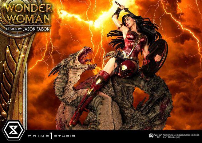 Prime 1 Studio - Wonder Woman - Wonder Woman vs Hydra - 27