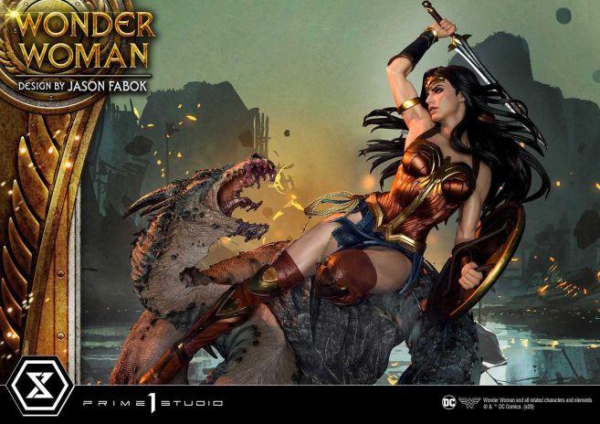 Prime 1 Studio - Wonder Woman - Wonder Woman vs Hydra - 32