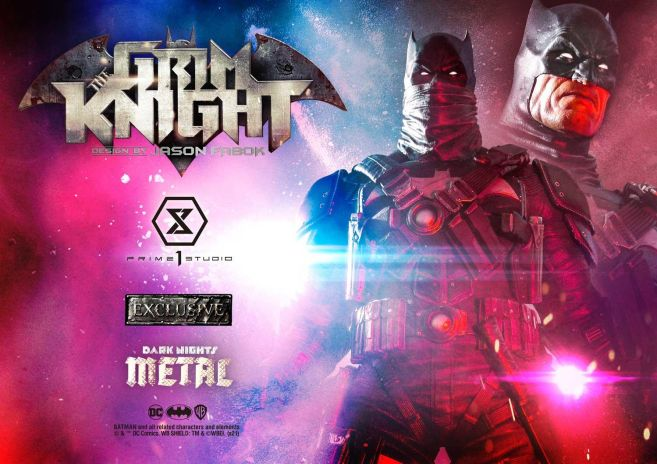 Prime 1 Studio - Dark Knights Metal - Grim Knight - 17