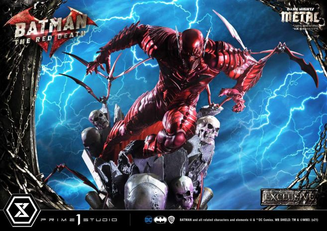 Prime 1 Studio - Dark Nights Metal - The Red Death - 08
