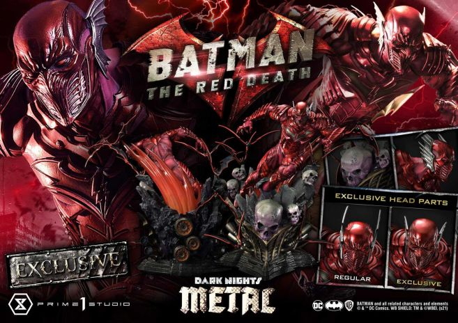 Prime 1 Studio - Dark Nights Metal - The Red Death - 60
