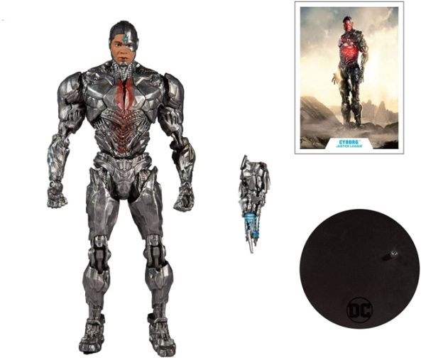 McFarlane Toys - DC Multiverse - Zack Snyders Justice League - Cyborg - 06