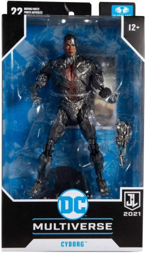 McFarlane Toys - DC Multiverse - Zack Snyders Justice League - Cyborg - 07