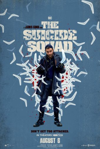 The Suicide Squad - Character Poster - Jai Courtney - Captain Boomerang - 01