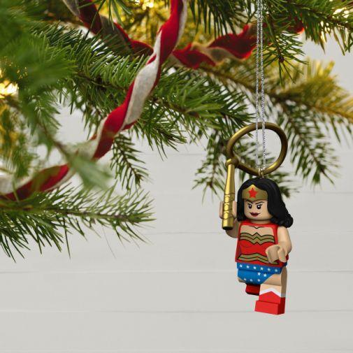 Hallmark - Keepsake Ornaments - 2021 - LEGO - DC Superheroes - Wonder Woman - 02