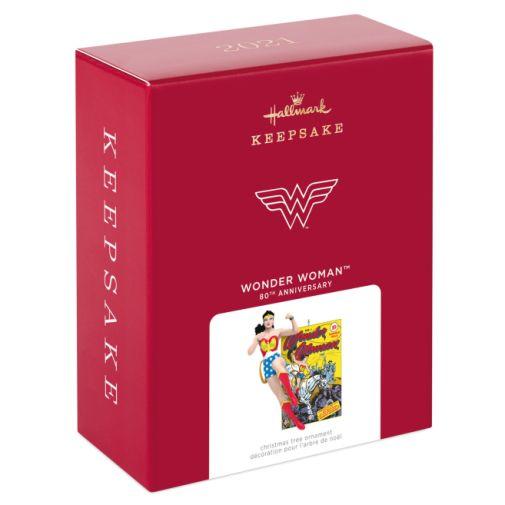 Hallmark - Keepsake Ornaments - 2021 - Wonder Woman - 80th Anniversary - 04