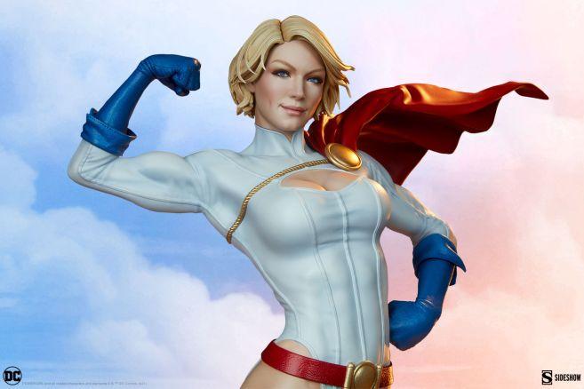 Sideshow - DC - Power Girl Premium Format Figure - 03