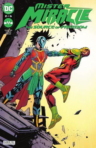 Mister Miracle the Source of Freedom 2