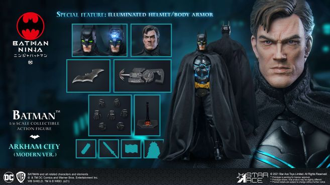 Star Ace Toys - Batman Ninja - Batman - Moden Day - 13