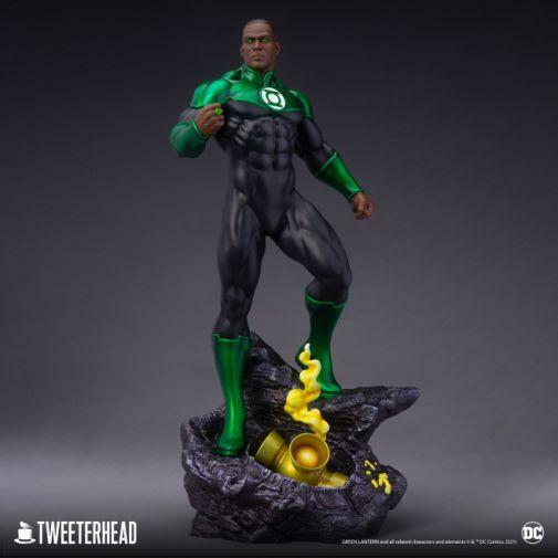 Tweeterhead - Green Lantern - John Stewart - Statue - 02