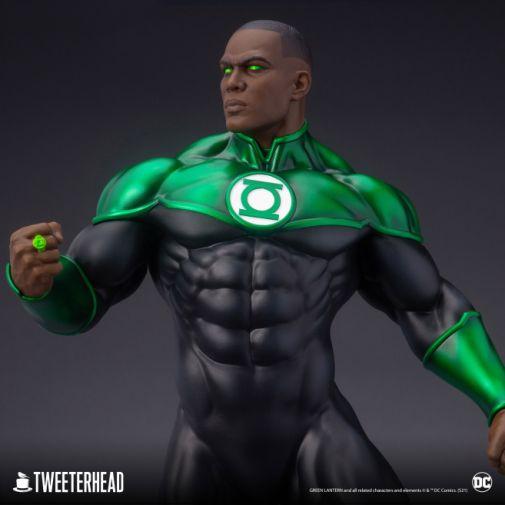Tweeterhead - Green Lantern - John Stewart - Statue - 05
