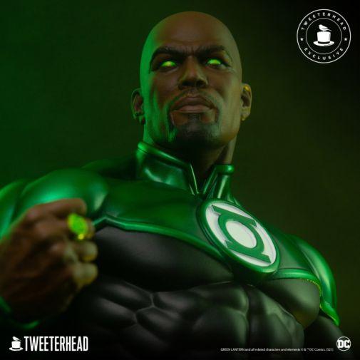 Tweeterhead - Green Lantern - John Stewart - Statue - 08