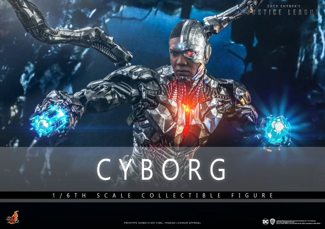 Hot Toys - Zack Snyders Justice League - Cyborg - 01