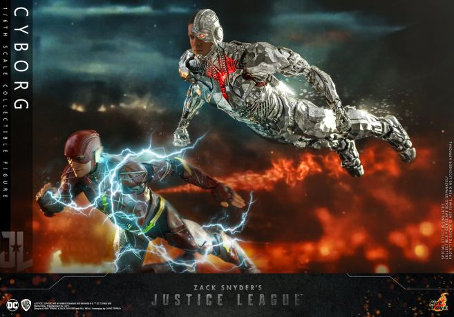 Hot Toys - Zack Snyders Justice League - Cyborg - 10