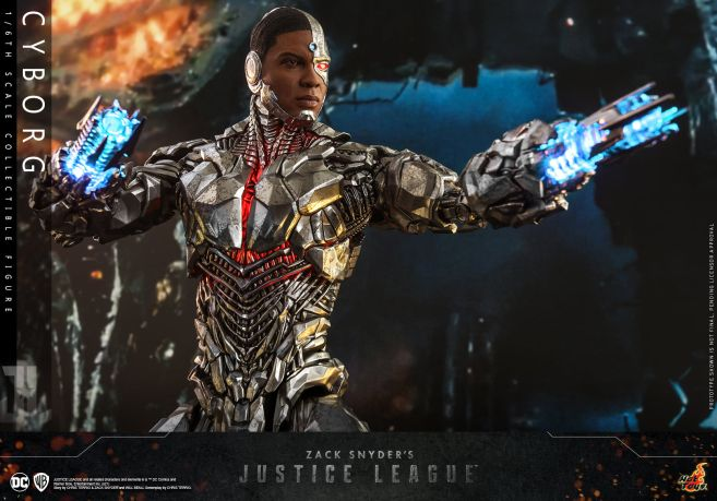 Hot Toys - Zack Snyders Justice League - Cyborg - 12