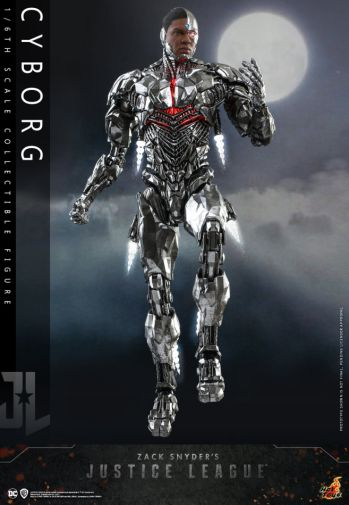 Hot Toys - Zack Snyders Justice League - Cyborg - 15