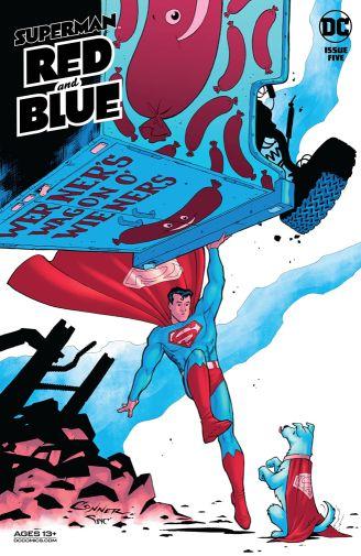 Superman Red and Blue 5