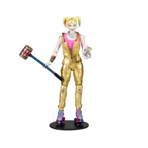 McFarlane Toys - DC Multiverse - Birds of Prey - Harley Quinn - Gold Overalls - 02