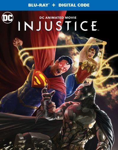 Injustice - DC Animated Movie - Blu-ray - straight shot - 01
