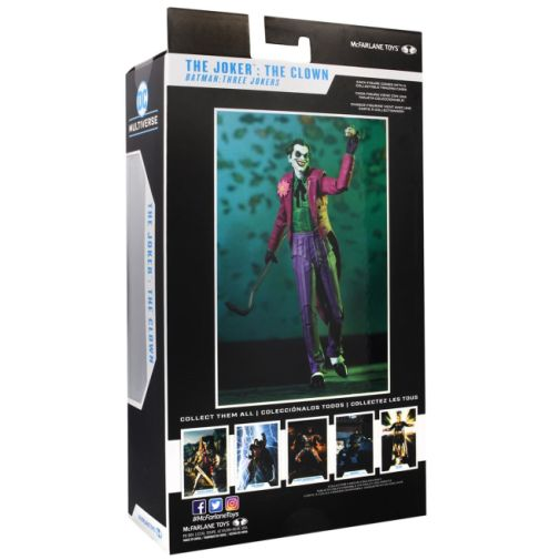 McFarlane Toys - DC Multiverse - Batman - Three Jokers - Joker - Clown - 10
