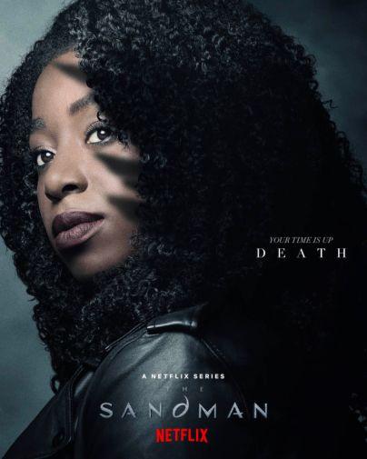Sandman - Season 1 - Teaser Poster - Death - 01