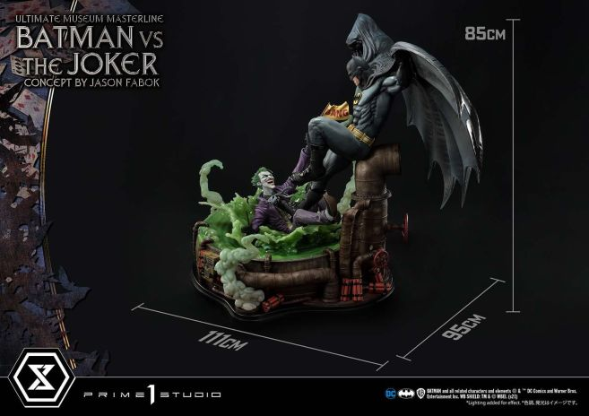Prime 1 Studio - Batman - Batman Vs Joker - 10