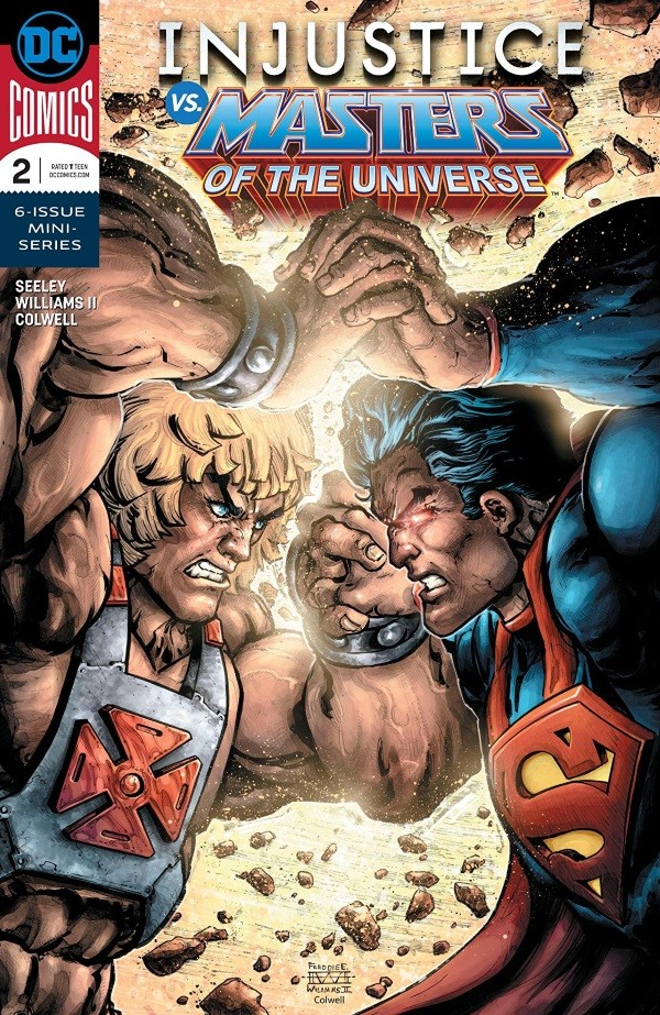 Review - INJUSTICE VS. MASTERS OF THE UNIVERSE by Garrett Grev