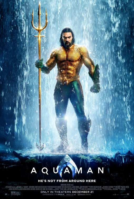 "A BOF Film Review: AQUAMAN by Bill ""Jett"" Ramey"