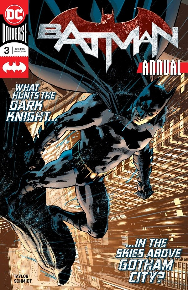BATMAN ANNUAL #3 Review by John Bierly