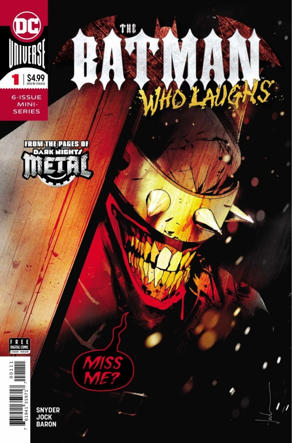 "THE BATMAN WHO LAUGHS #1 Review by Bill ""Jett"" Ramey"