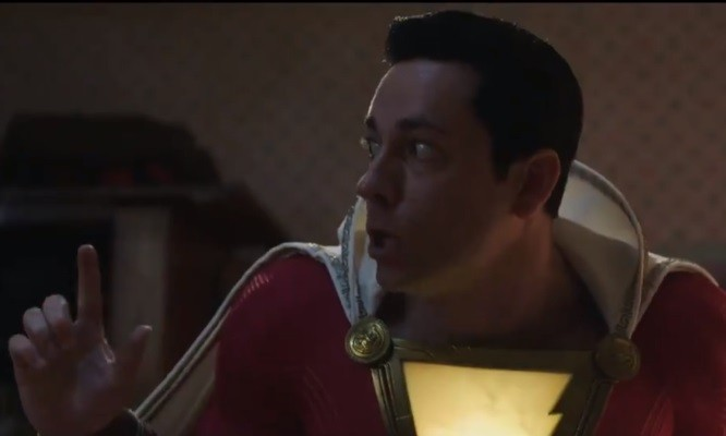 "VIDEO: Billy Batson Learns the Power of the Word ""Shazam!"""