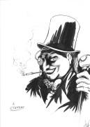 Sketch Pinguino di Vittorio Astone